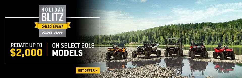 Can-Am: Holiday Blitz Sales Event - Can-Am