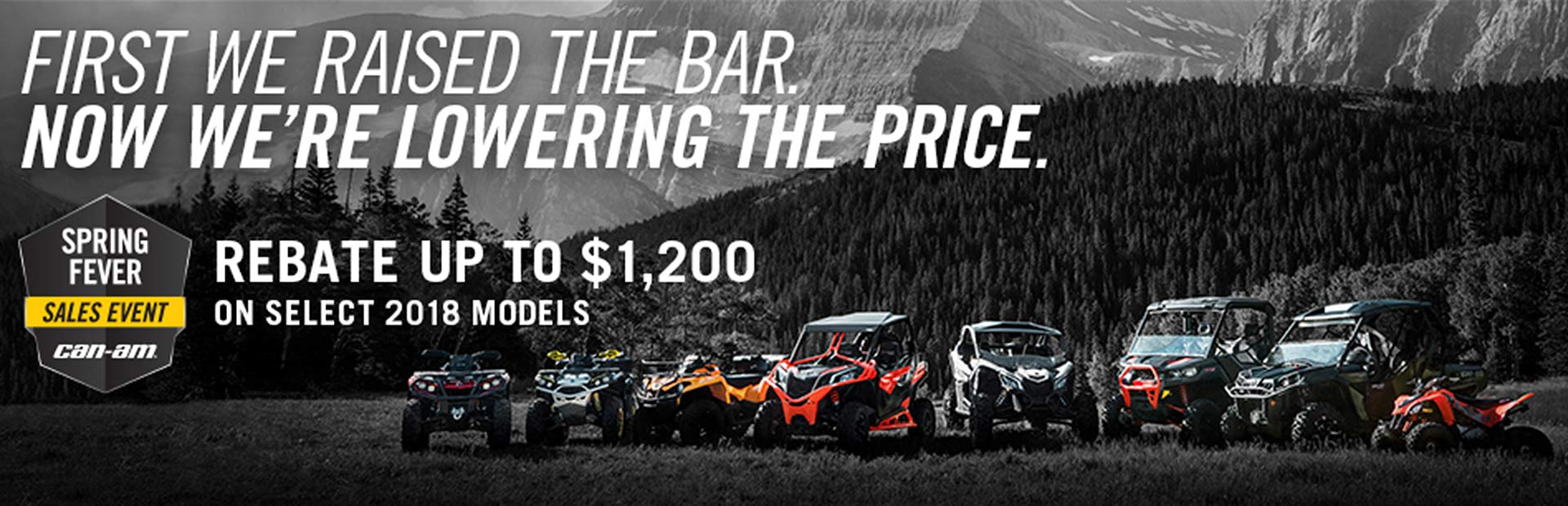 Can-Am: Spring Fever Sales Event