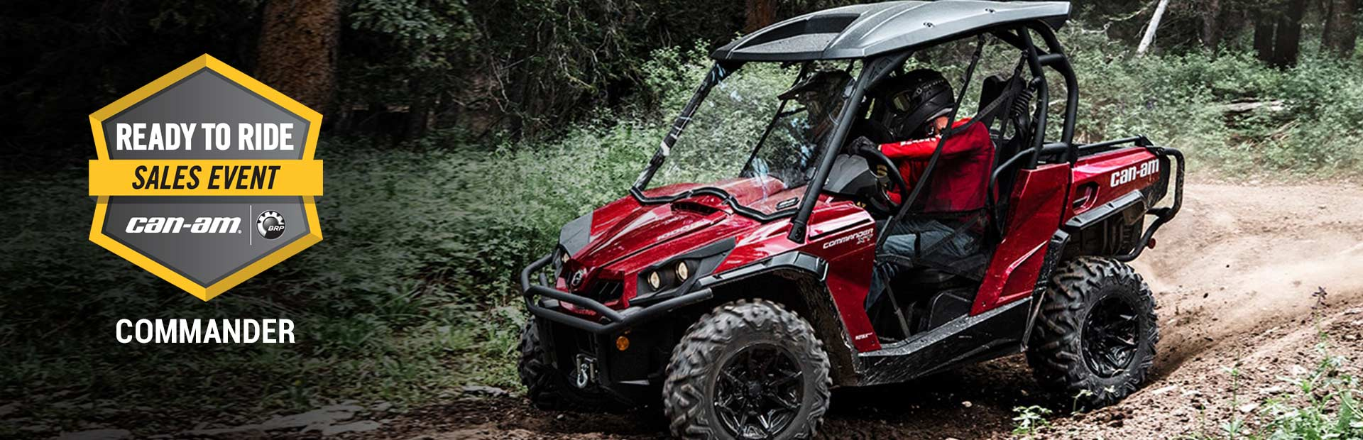 Can-Am: Ready to Ride Sales Event - COMMANDER
