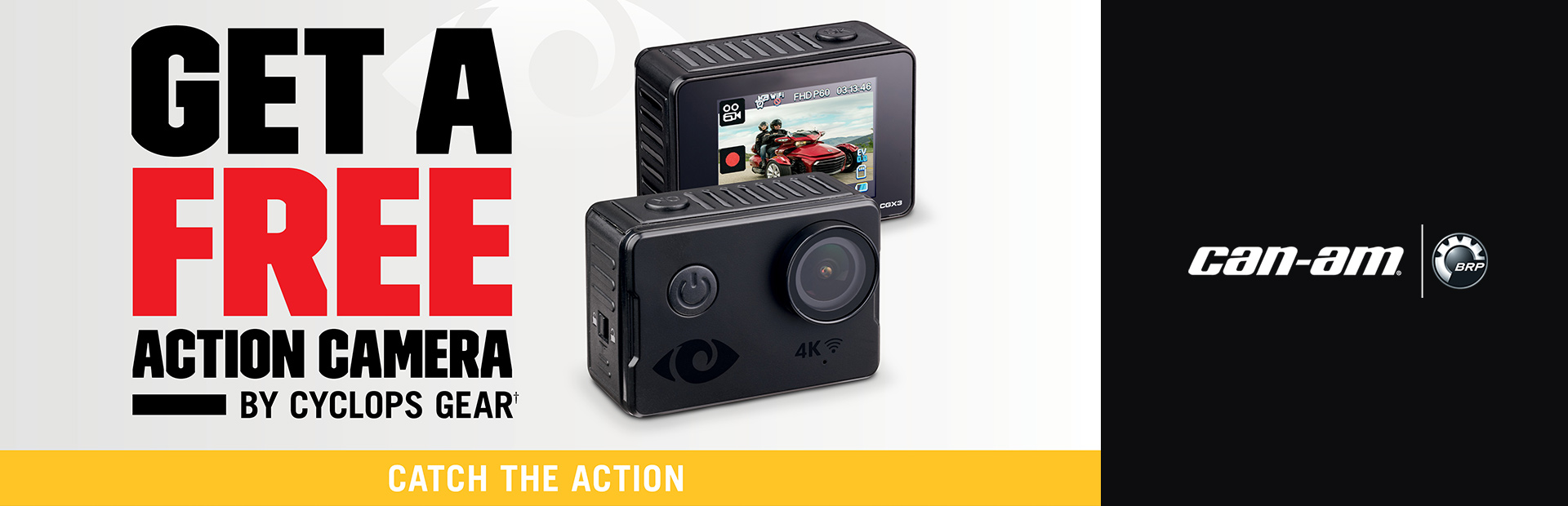 Can-Am: Action Camera Promotion