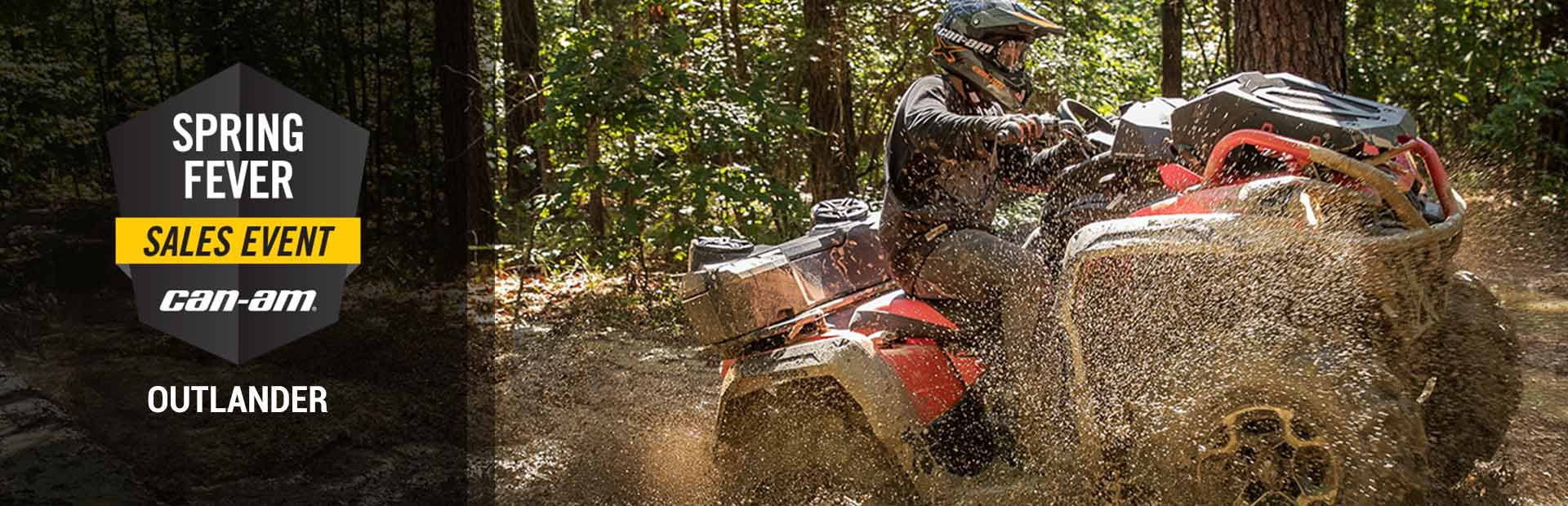 Can-Am: Spring Fever Sales Event (Outlander)