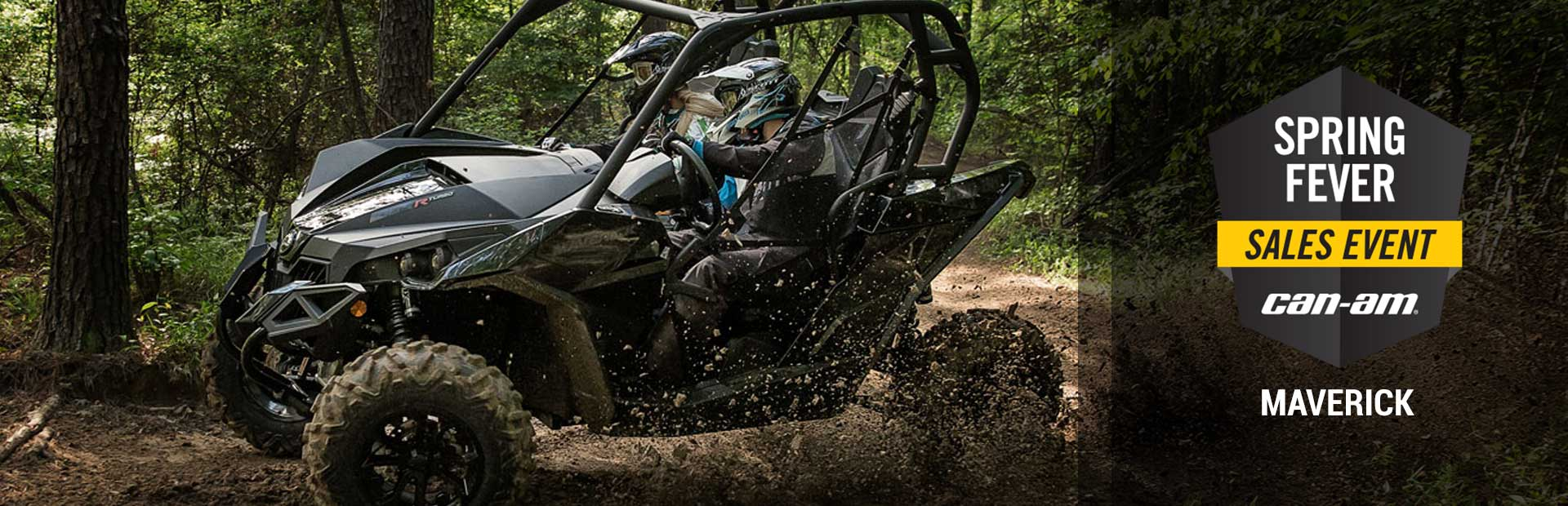 Can-Am: Spring Fever Sales Event (Maverick)