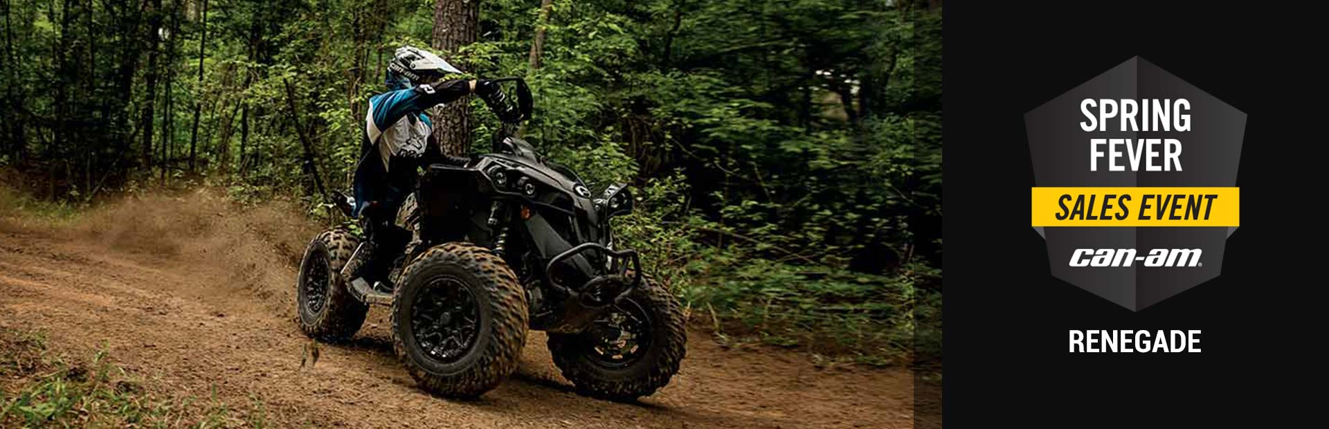 Can-Am: Spring Fever Sales Event (Renegade)