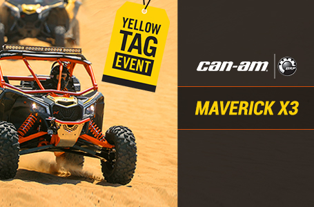 Yellow Tag Event (Maverick X3)