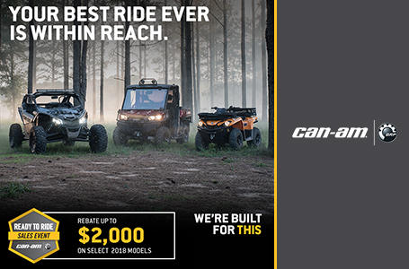 Can-Am Ready to Ride Sales Event