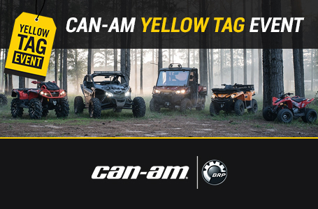 Can-Am Yellow Tag Event