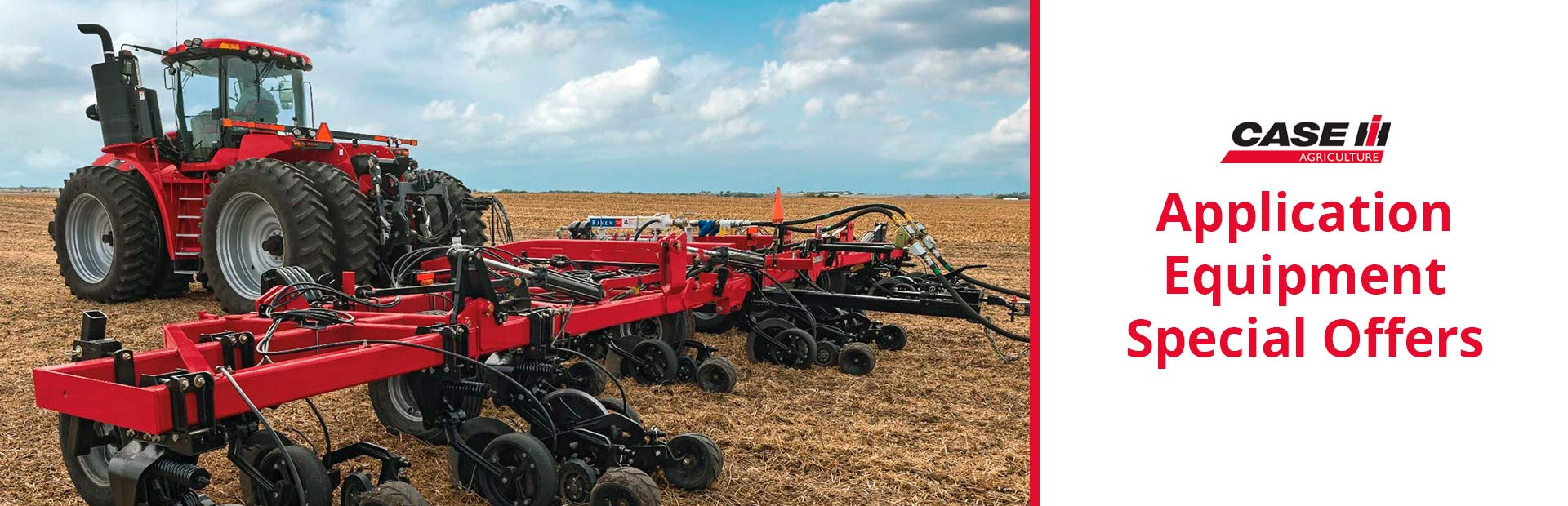 Case IH: Application Equipment Special Offers
