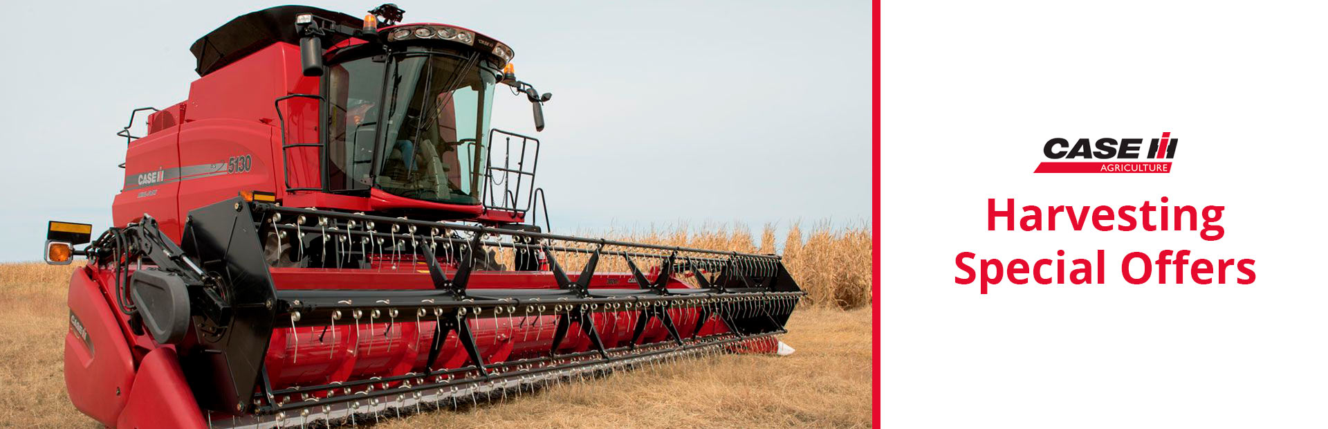 Case IH: Harvesting Special Offers