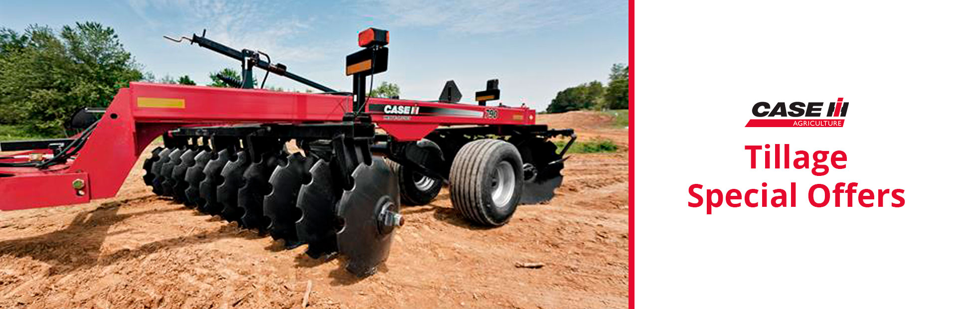 Case IH: Tillage Special Offers