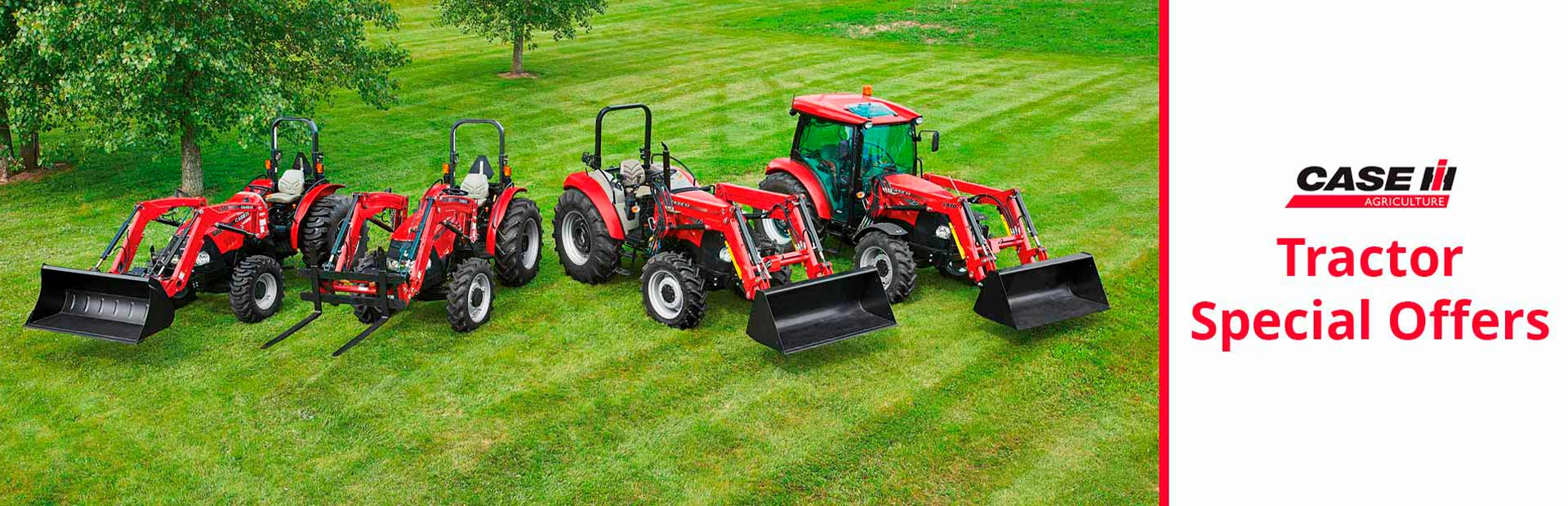 Case IH: Tractor Special Offers