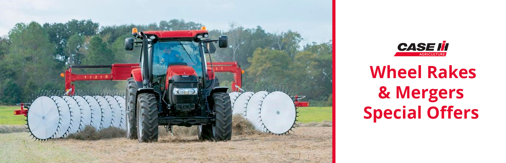 Case IH: Wheel Rakes & Mergers Special Offers