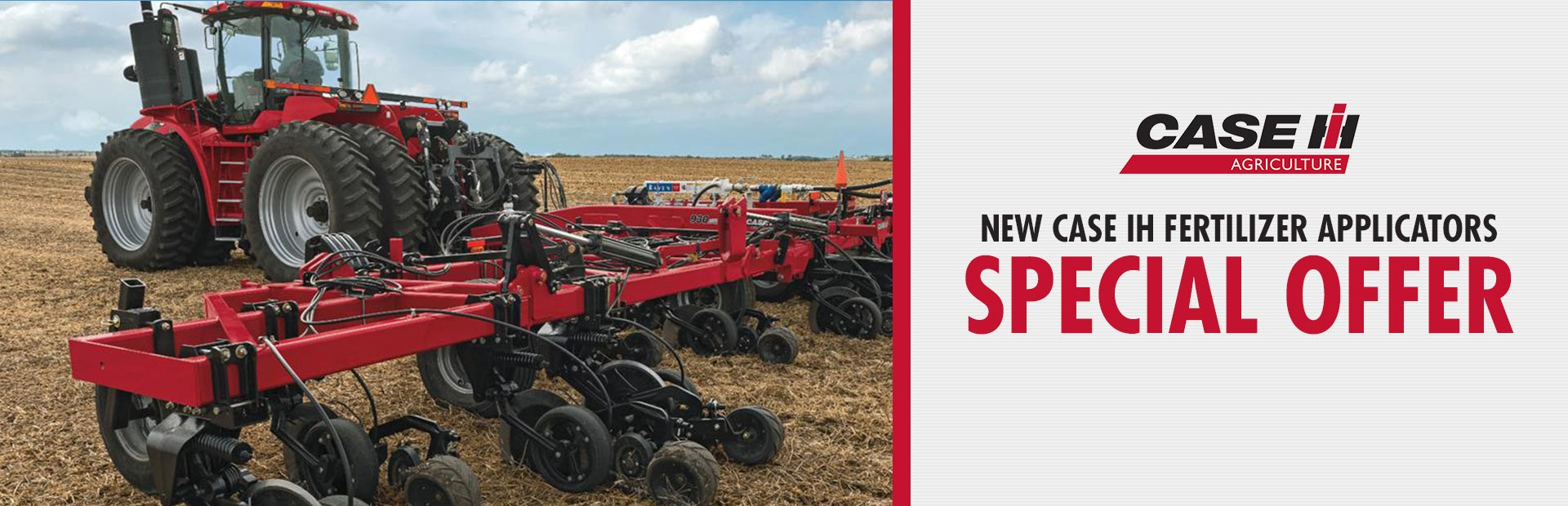 Case IH: New Case IH Fertilizer Applicators Special Offer