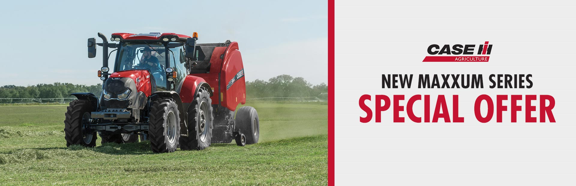 Case IH: New Maxxum Series Special Offer