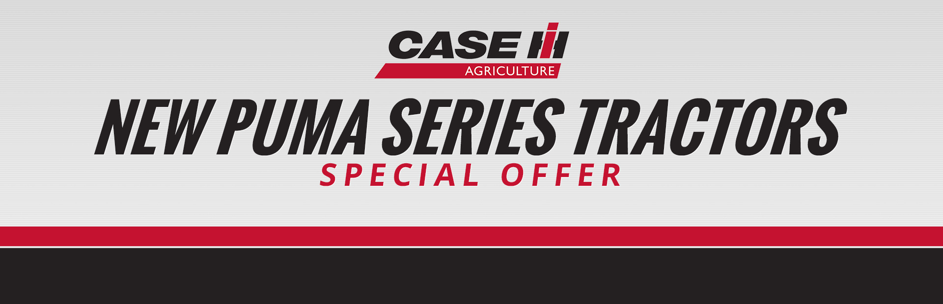 Case IH: New Puma Series Tractors Special Offer