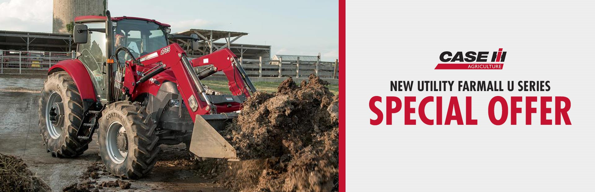 Case IH: New Utility Farmall U Series Special Offer