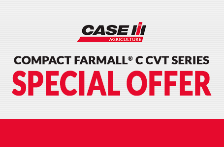 Compact Farmall® C CVT Series Special Offer
