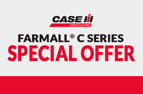 Compact Farmall® C Series Special Offer