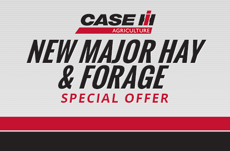 New Major Hay & Forage Special Offer