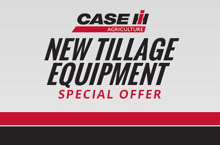 New Tillage Equipment Special Offer
