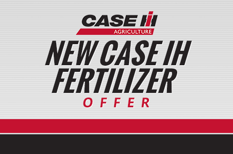 New Case IH Fertilizer Applicators Special Offer