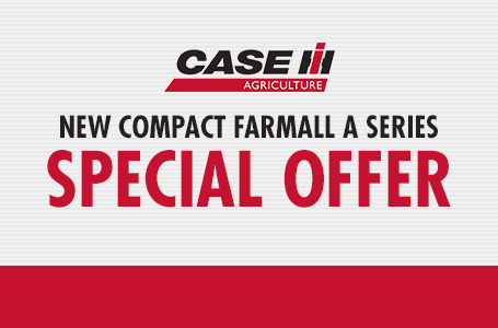New Compact Farmall A Series Special Offer