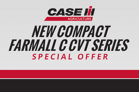 New Compact Farmall C CVT Series Special Offer