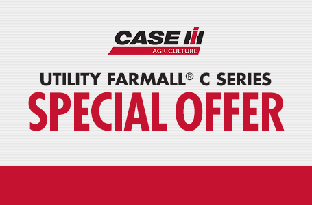 Utility Farmall® C Series Special Offer
