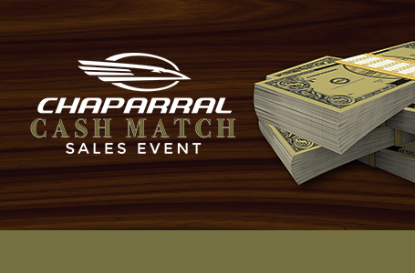 Chaparral Cash Match Sales Event