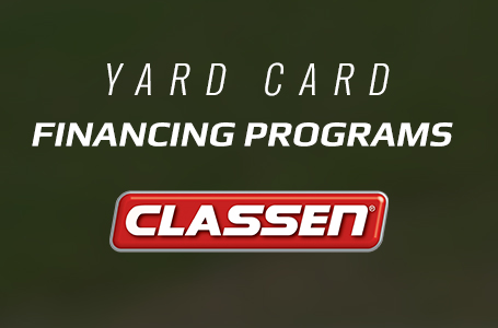 Classen - Yard Card Financing Programs