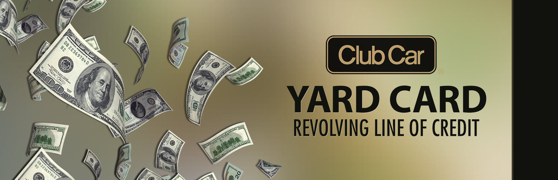 Club Car: Yard Card Financing