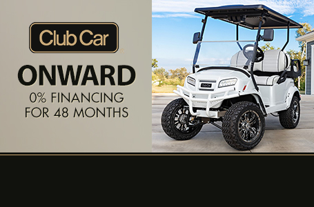Club Car Onward Promotion
