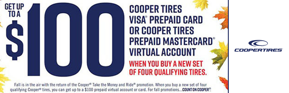 Take the Money and Ride - Cooper Fall Reward Offer