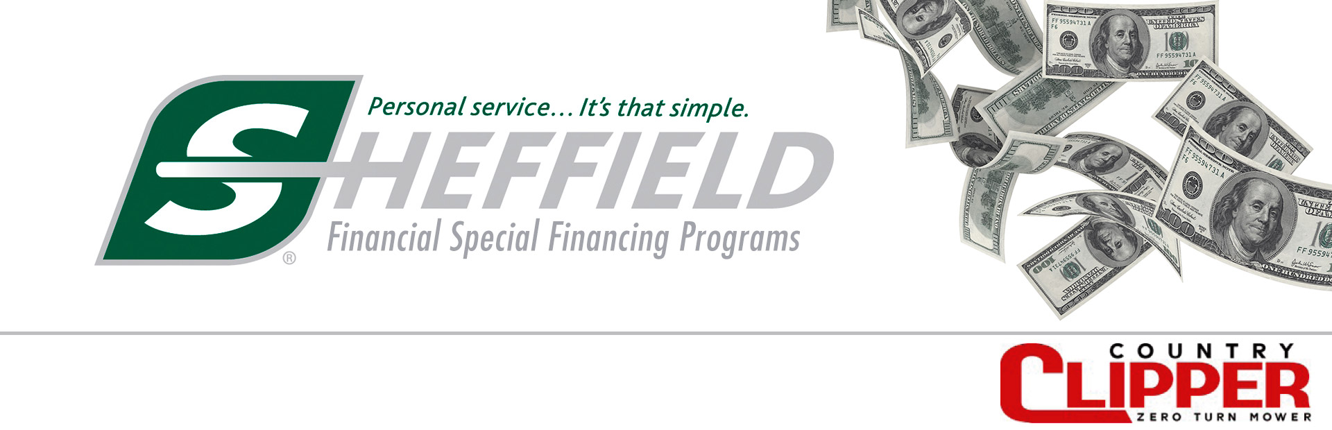 Country Clipper: Sheffield Financial Programs