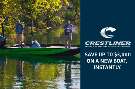 Crestliner Save Up on a New Boat