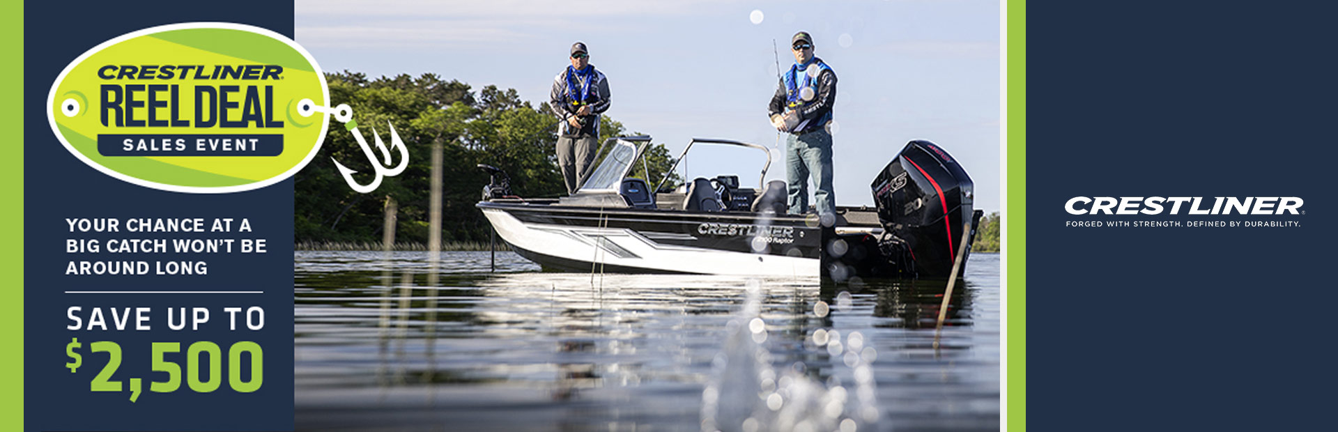 Crestliner: Reel Deal Sales Event