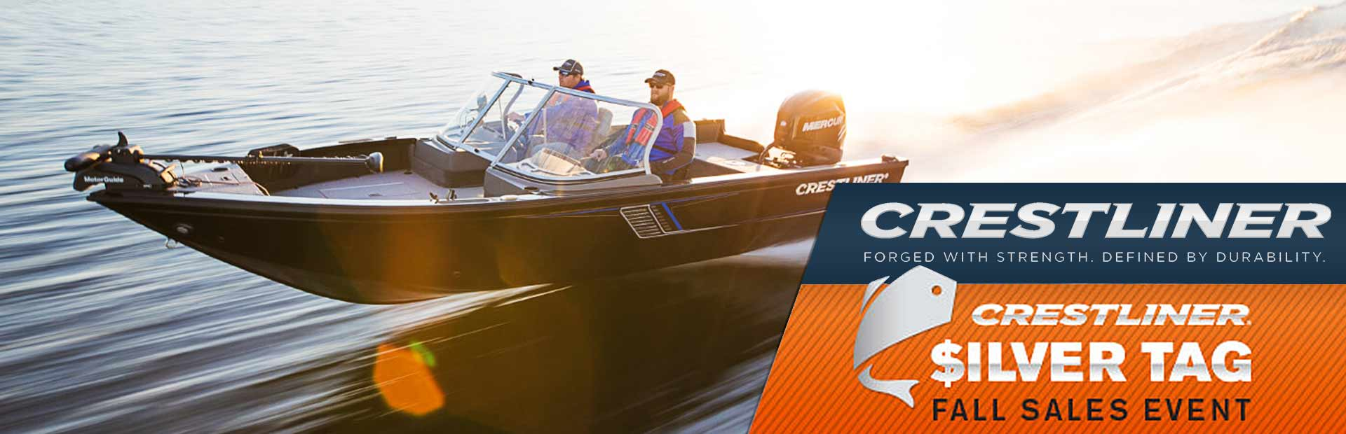 Crestliner: Silver Tag Fall Sales Event