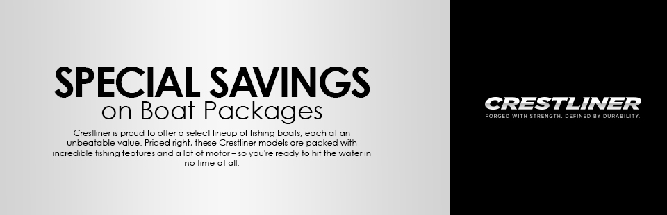 Crestliner: Special Savings on Boat Packages