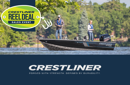 Crestliner® Reel Deal Sales Event