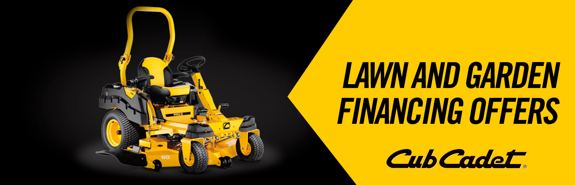 Cub Cadet: Lawn and Garden Financing Offers
