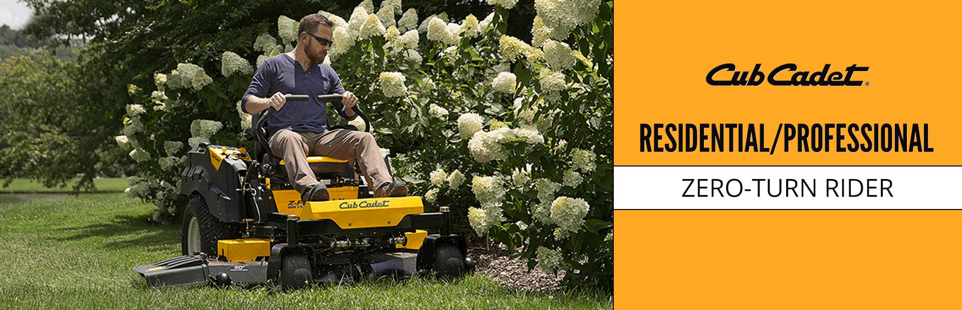 Cub Cadet: Residential/Professional Zero-Turn Rider Promotion