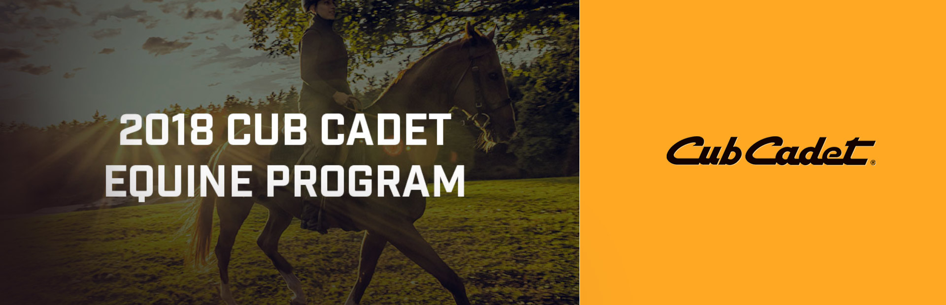 Cub Cadet: Equine Clubs/Groups Eligible For A $500 Rebate