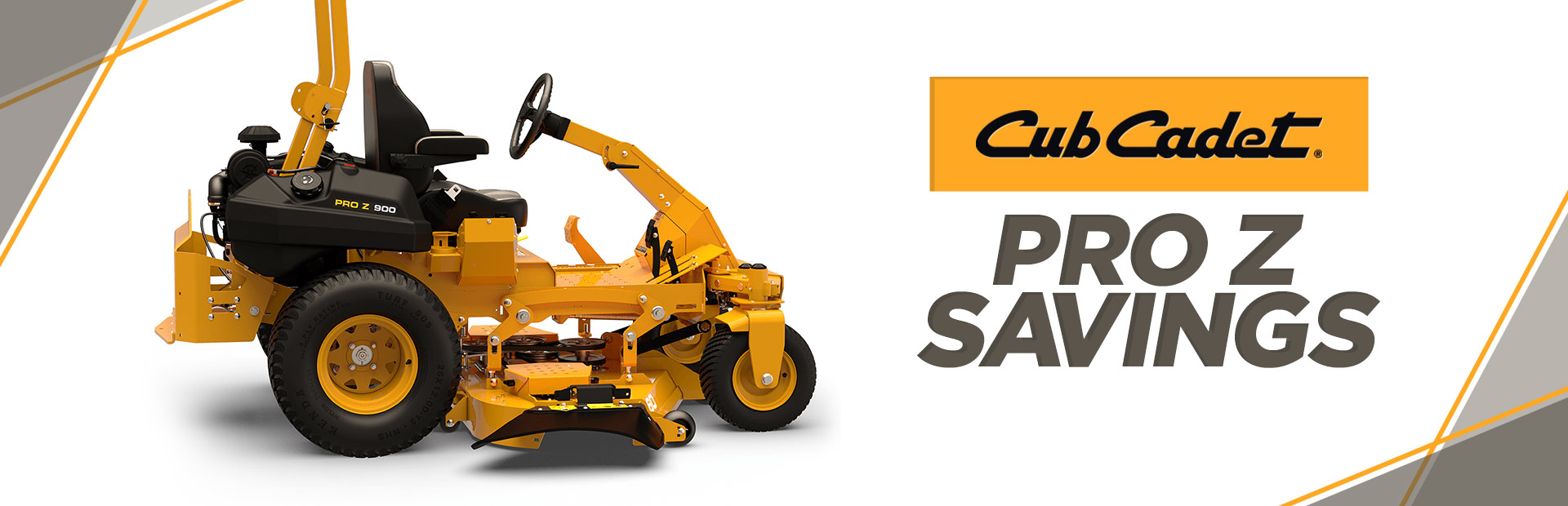 Cub Cadet: PRO Z Savings