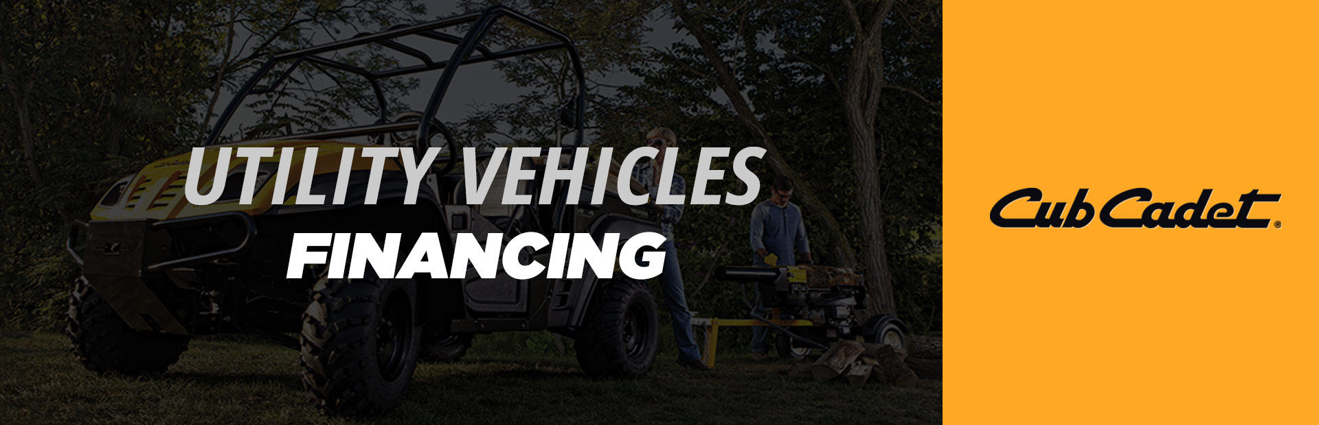 Cub Cadet: Utility Vehicles Financing
