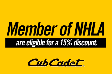 Member of NHLA are eligible for a 15% discount.