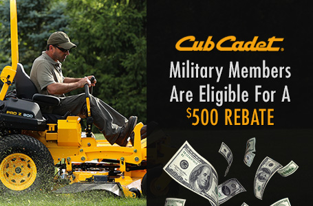 Military Members Are Eligible For A $500 Rebate