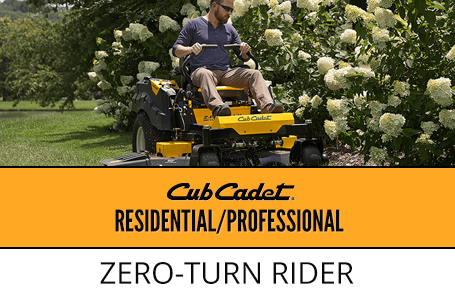 Residential/Professional Zero-Turn Rider Promotion