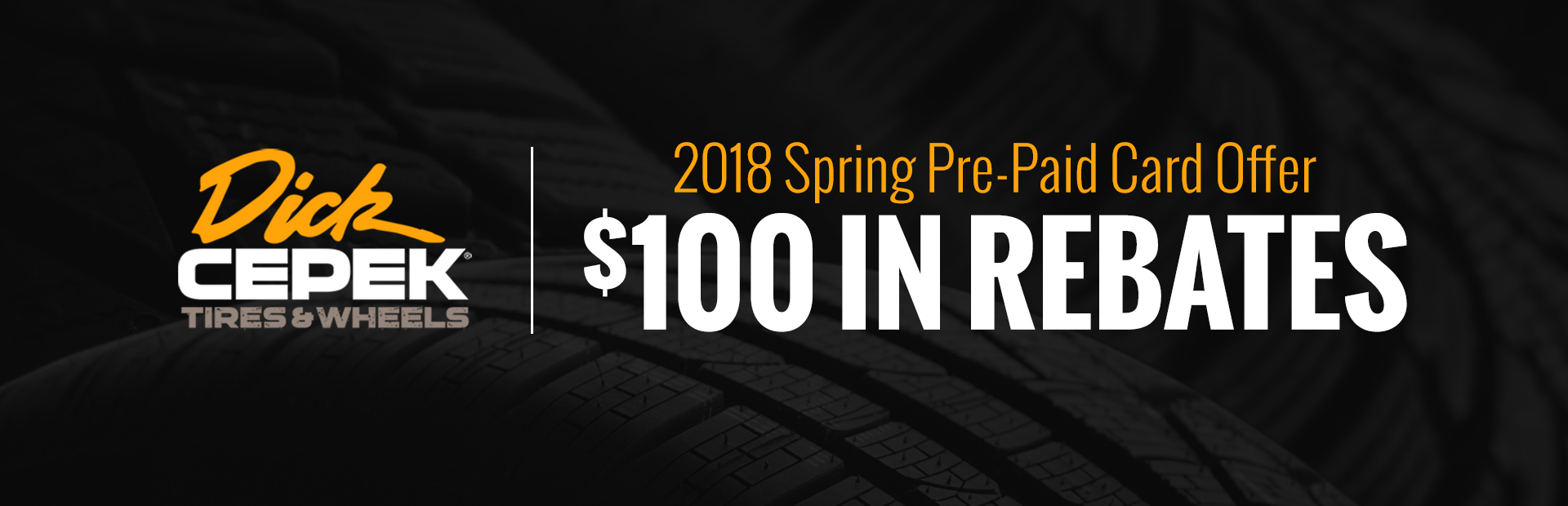 2018 Spring Pre-Paid Card Offer