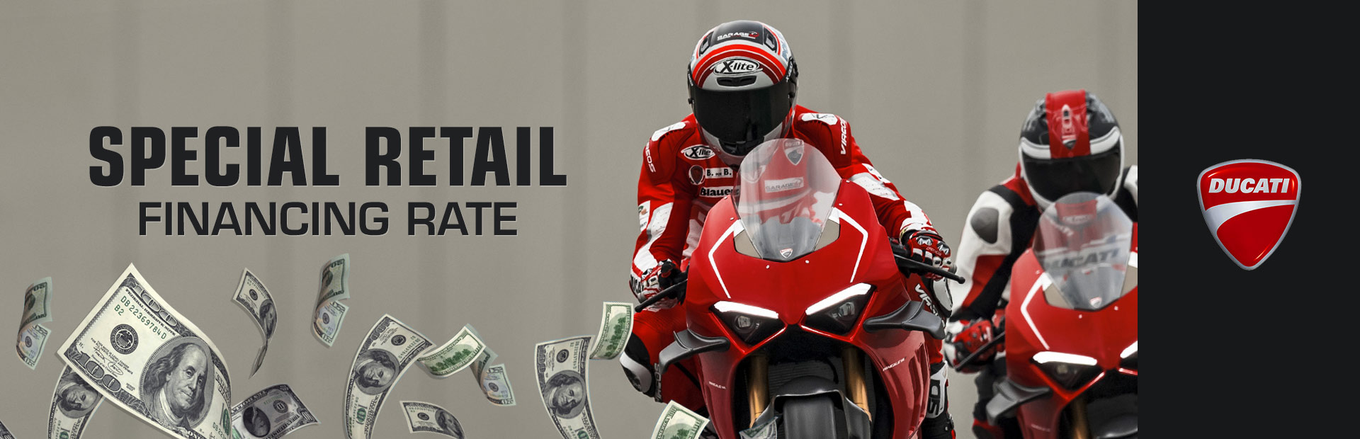 Ducati: Special Retail Financing Rate