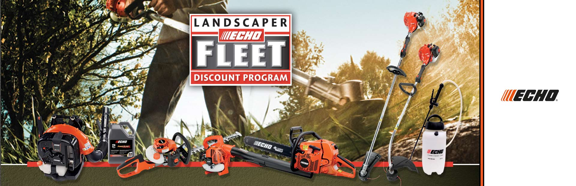 ECHO: Landscaper Fleet Discount Program