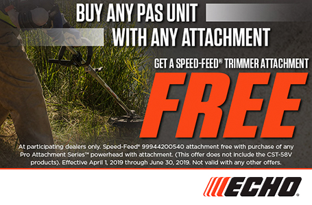 Free Speed-Feed® Trimmer Attachment